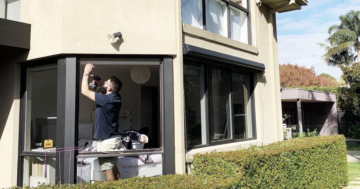 Restoring window frame rot in Melbourne